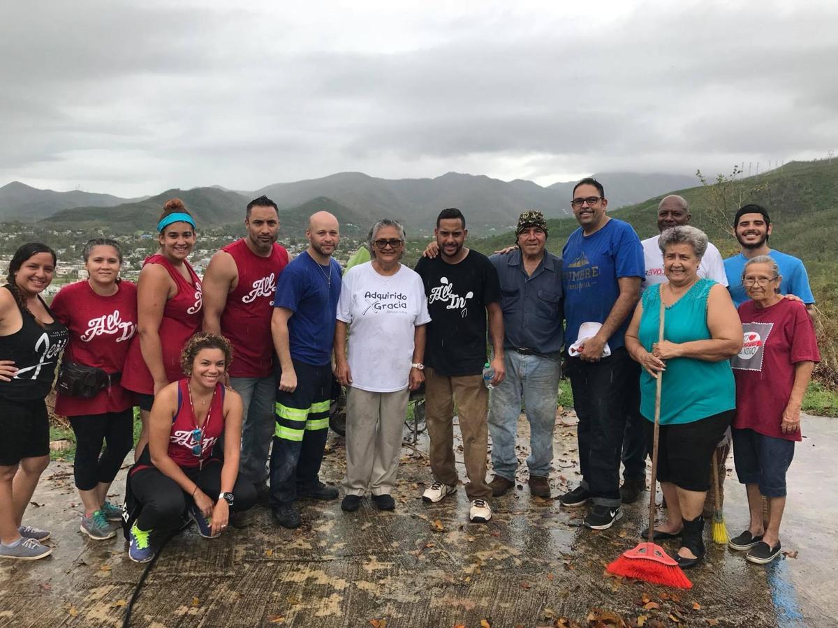 Gallery: Hammond firefighter visits Puerto Rico