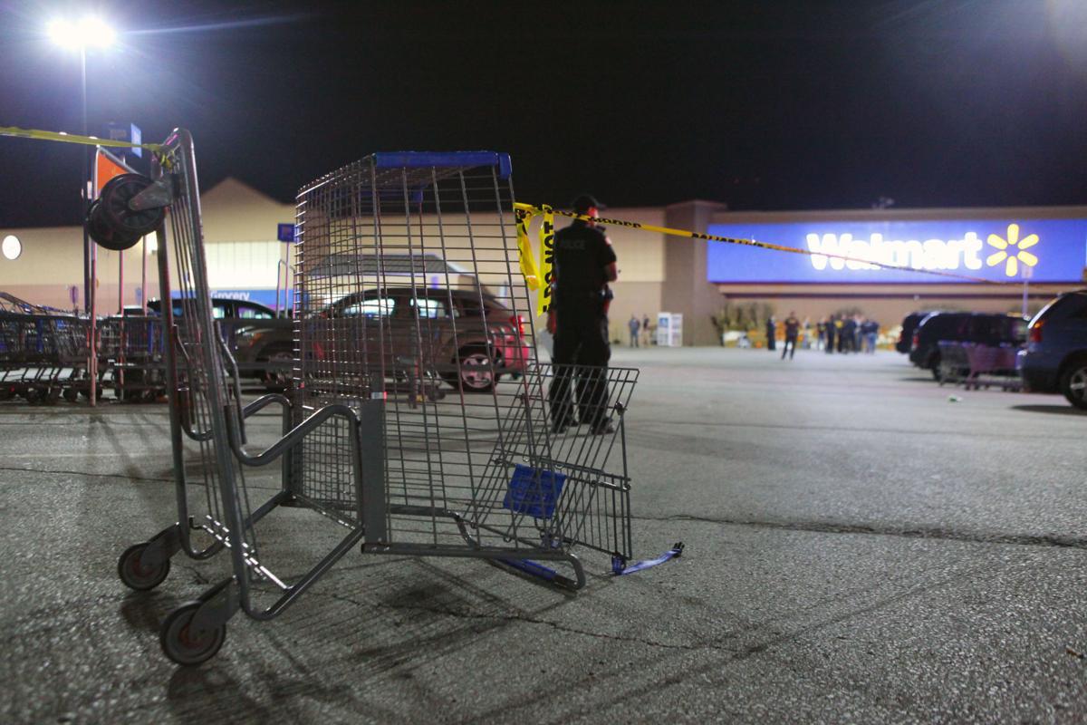 Shooting at Walmart - parking lot