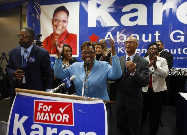 Gary celebrates Indiana's first black female mayor