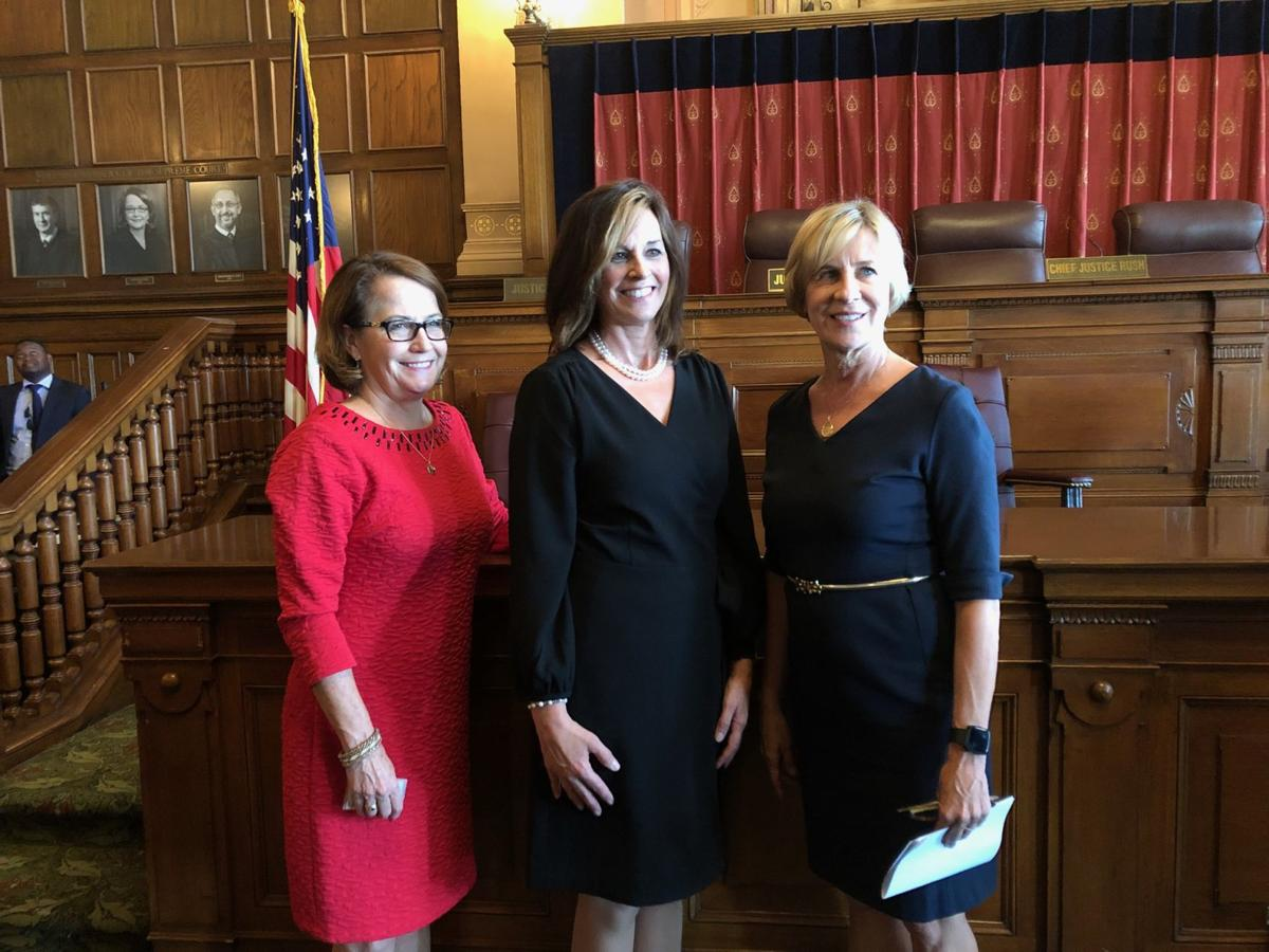 Robing ceremony completes Judge Tavitas' journey from Lake County to the Indiana Court of Appeals