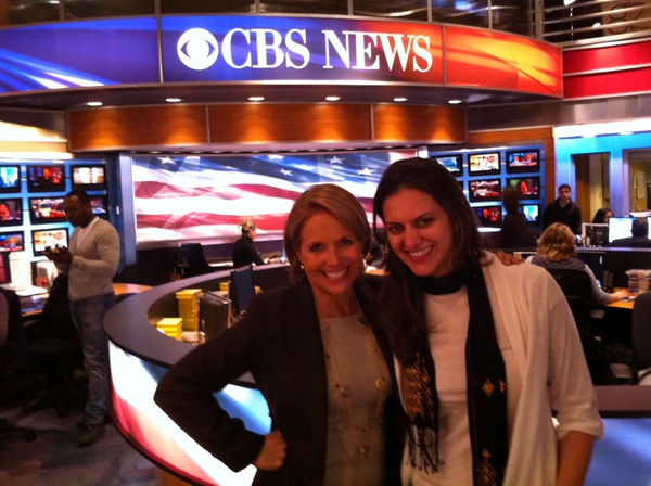 Erica Anderson with Katie Couric