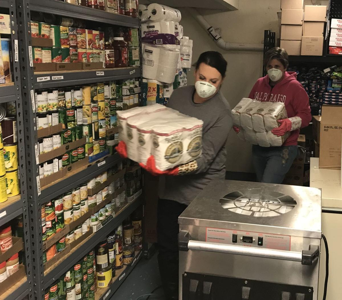 Hilltop Food Pantry flooding