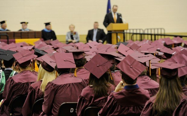 Chesterton grads proudly march on