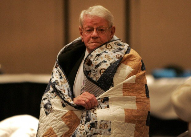 Quilts of Valor help heal wounds of war