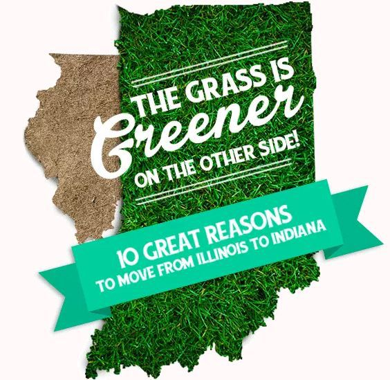 Grass is Greener campaign looks to lure Illinois residents to Indiana