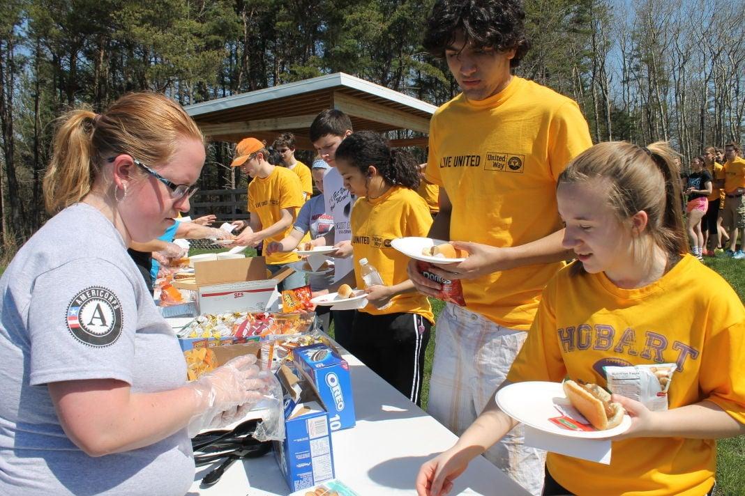 Taltree benefits from teen volunteers