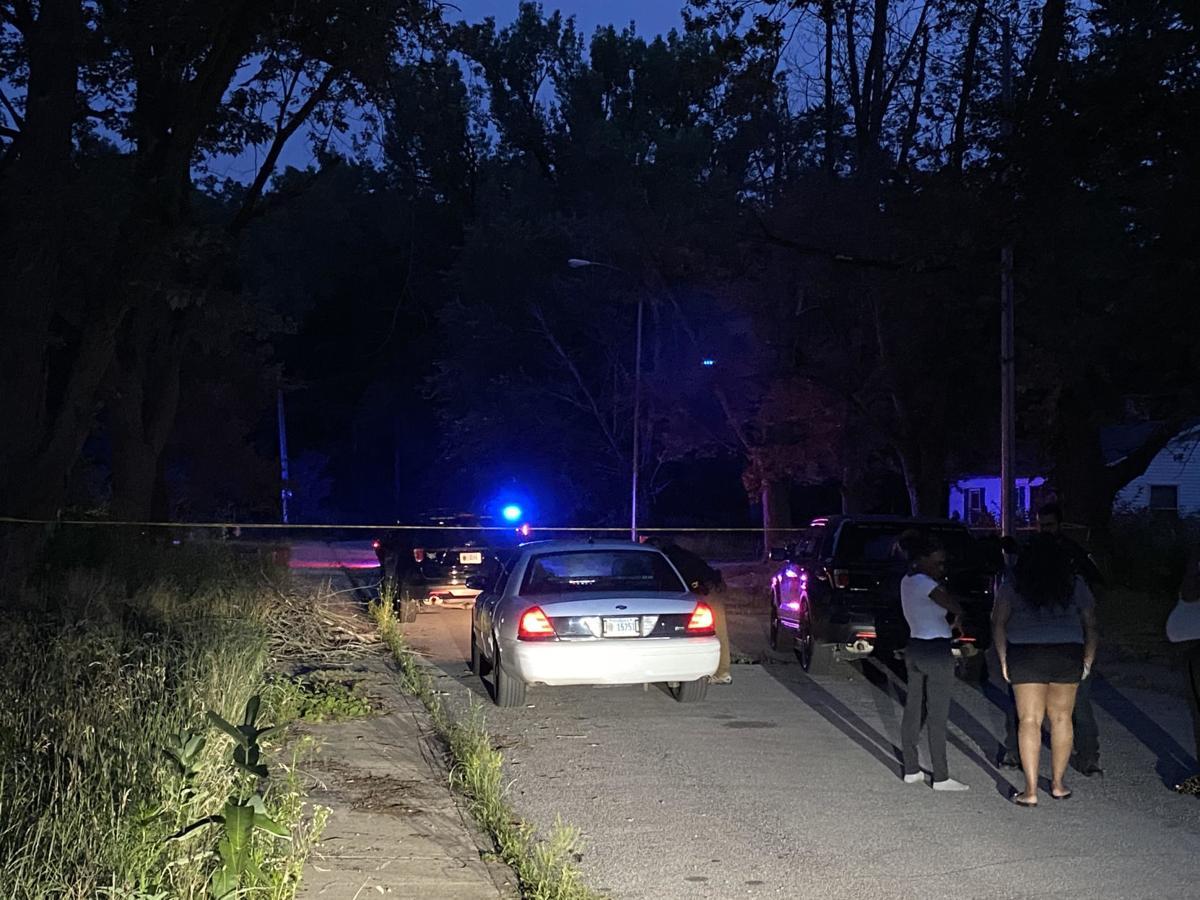 Homicide scene gary montana avenue