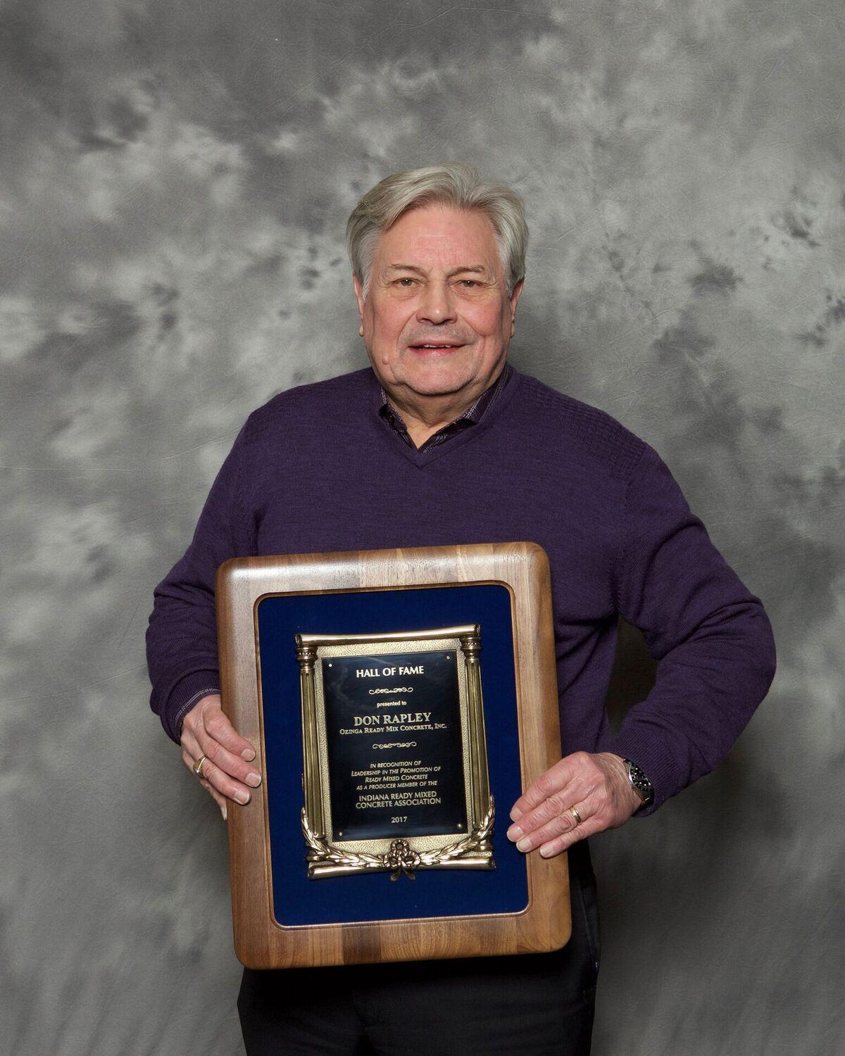 Ozinga leader inducted into Indiana Ready Mix Concrete Association Hall of Fame