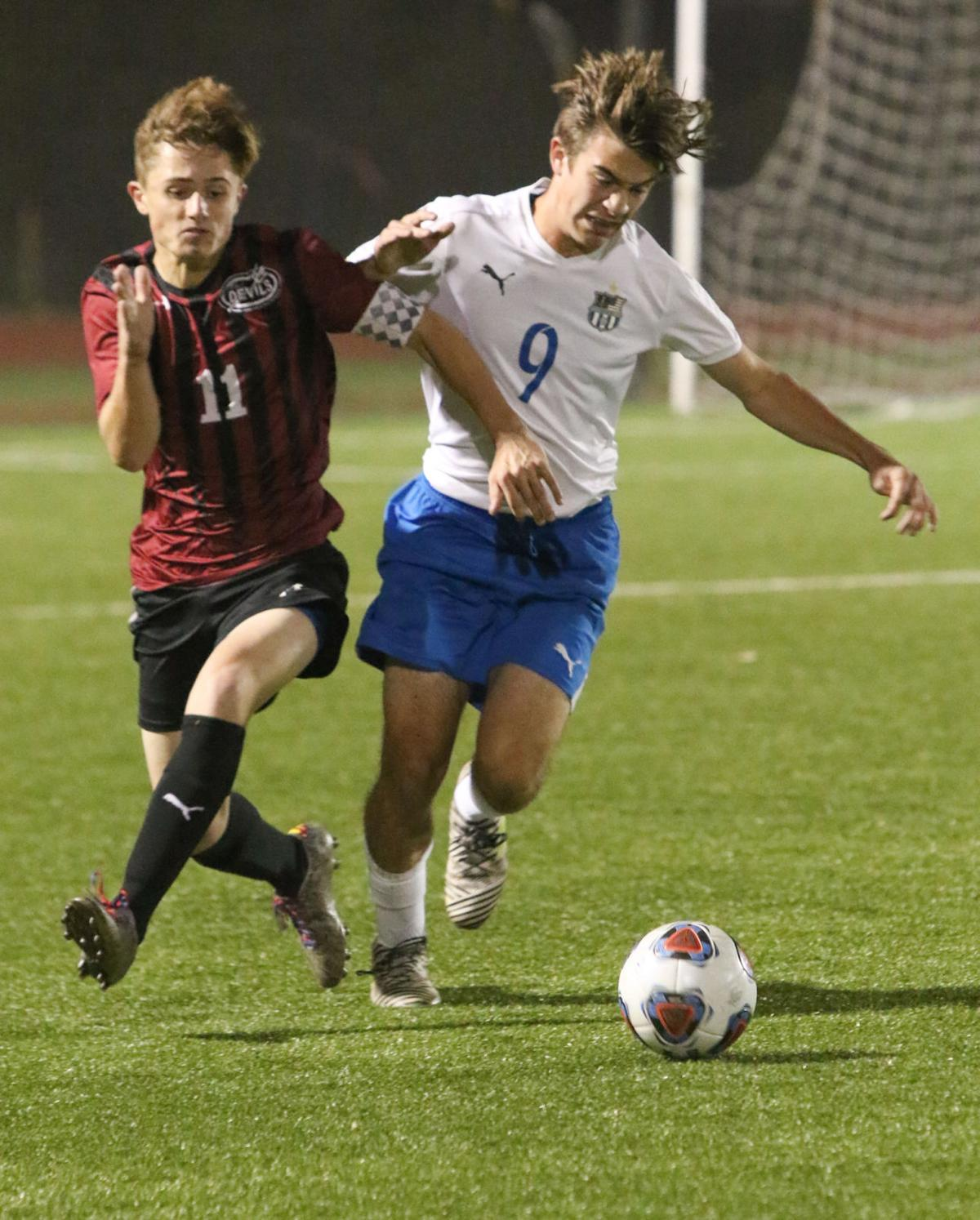 Boys soccer - EC Sectional - Lowell - Lake Central