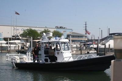 Lake County sheriff launches new Lake Michigan patrol boat