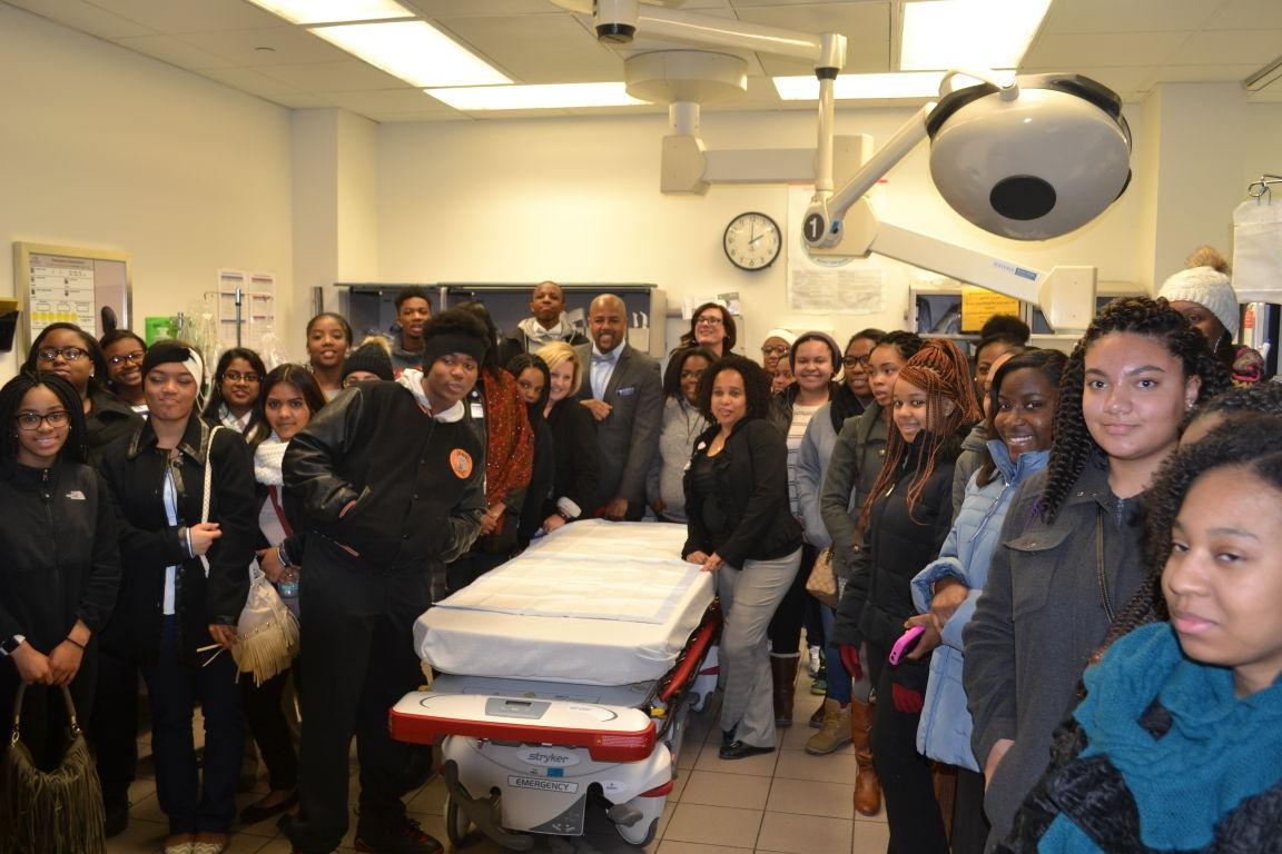 POP program celebrates MLK Day by learning about medicine