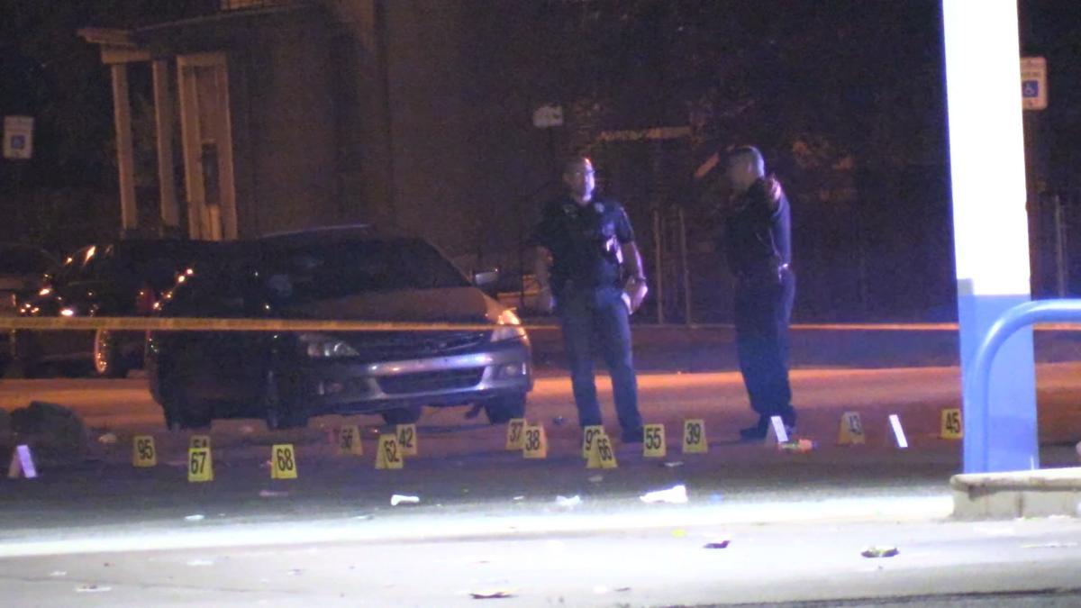 Multiple Shell Casings at scene of shooting in E.C.