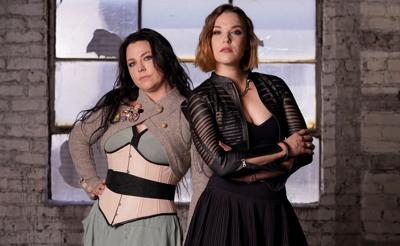 Lzzy Hale and Amy Lee Portrait Session