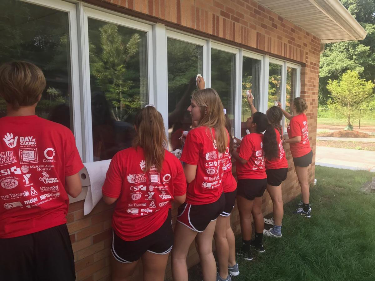 Volunteer effort makes Day of Caring a reality