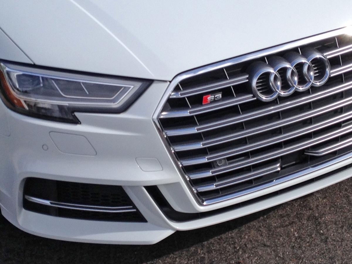 2017 Audi S3 headlight