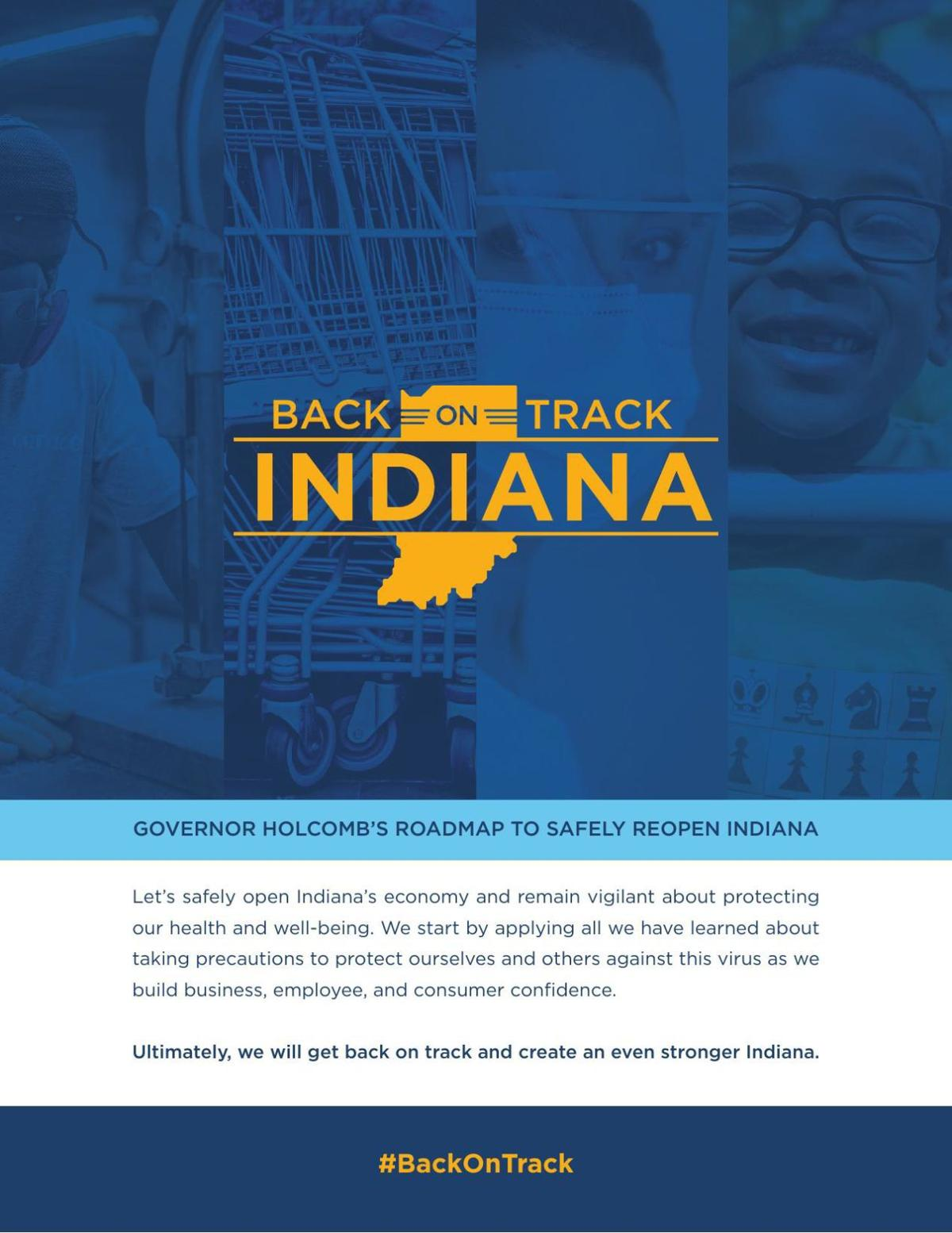 Back on Track Indiana plan