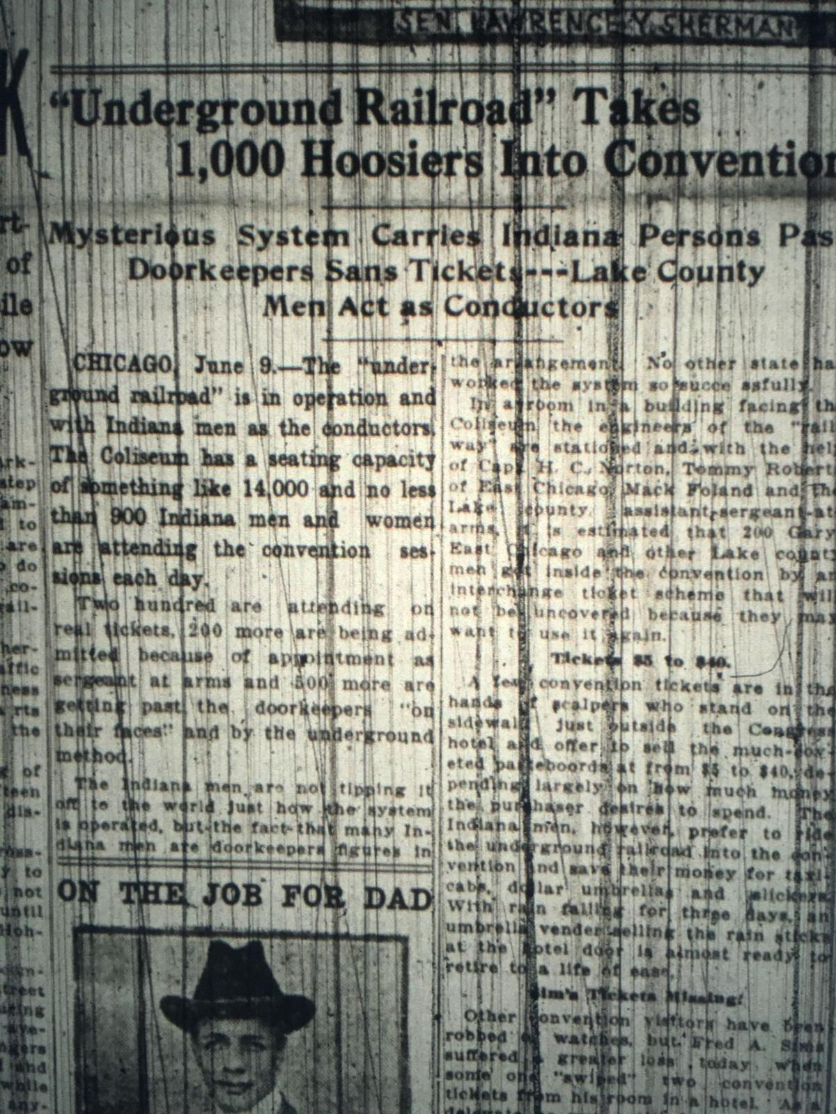 1916 conventions in Chicago