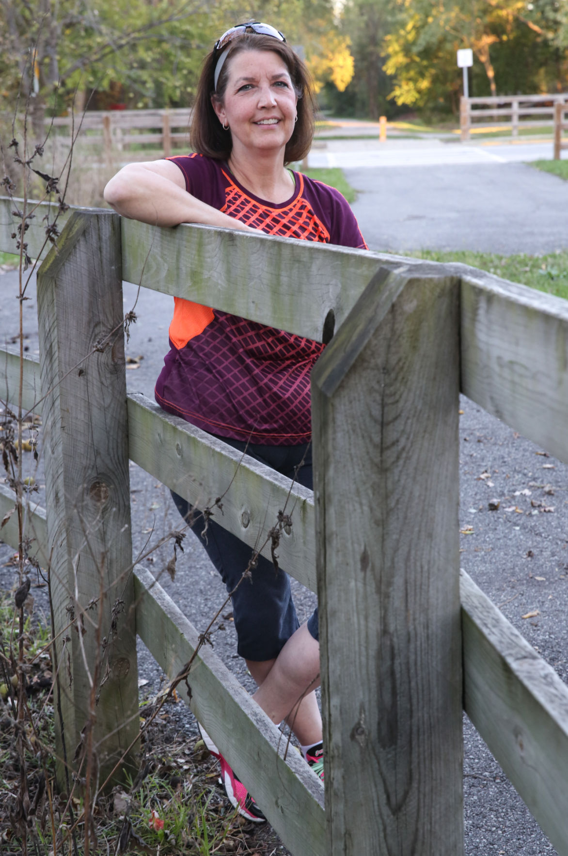 Barb Coggins, a contestant in The Times' Lose 17 in '17 contestants, recently got back into running by participating in 5Ks.