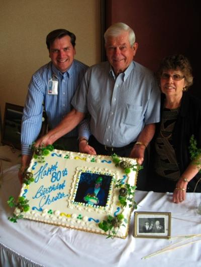 FROM The FARM Readers Make Dads 80th Birthday All Smiles