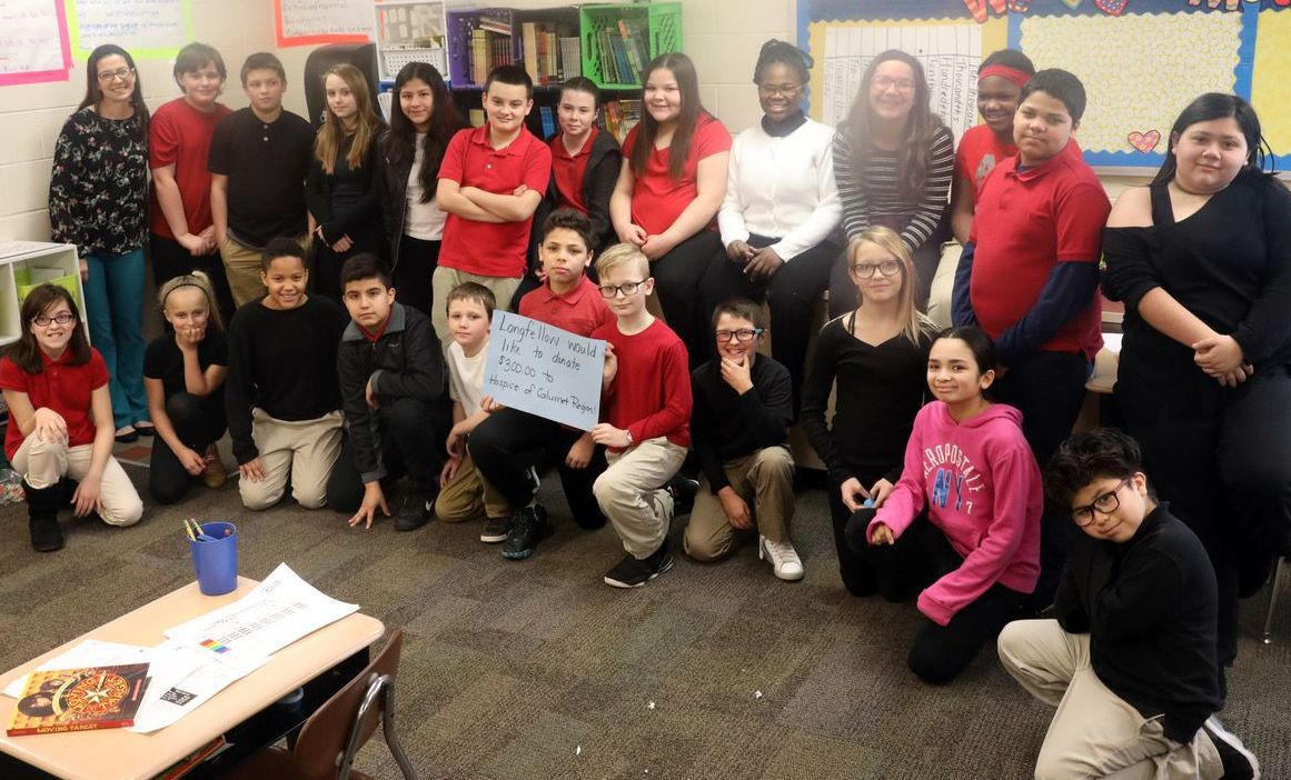 Gary's Longfellow New Tech Elementary students make a difference