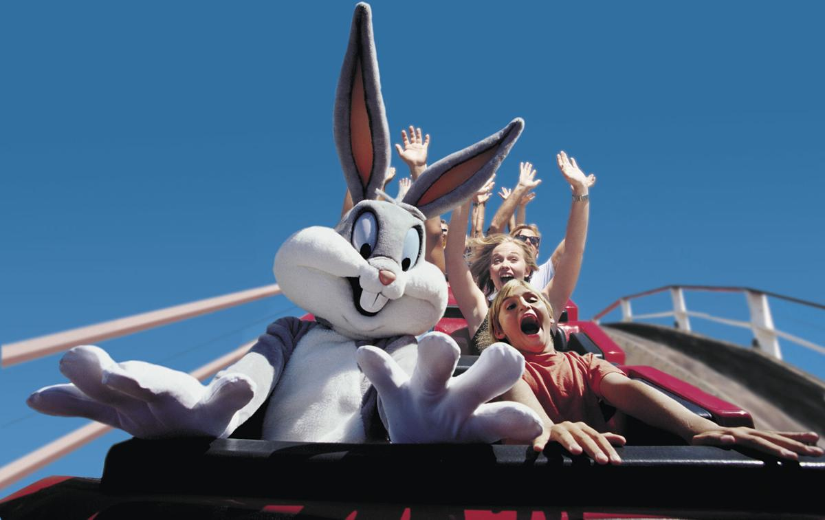 Bugs Bunny at Six Flags