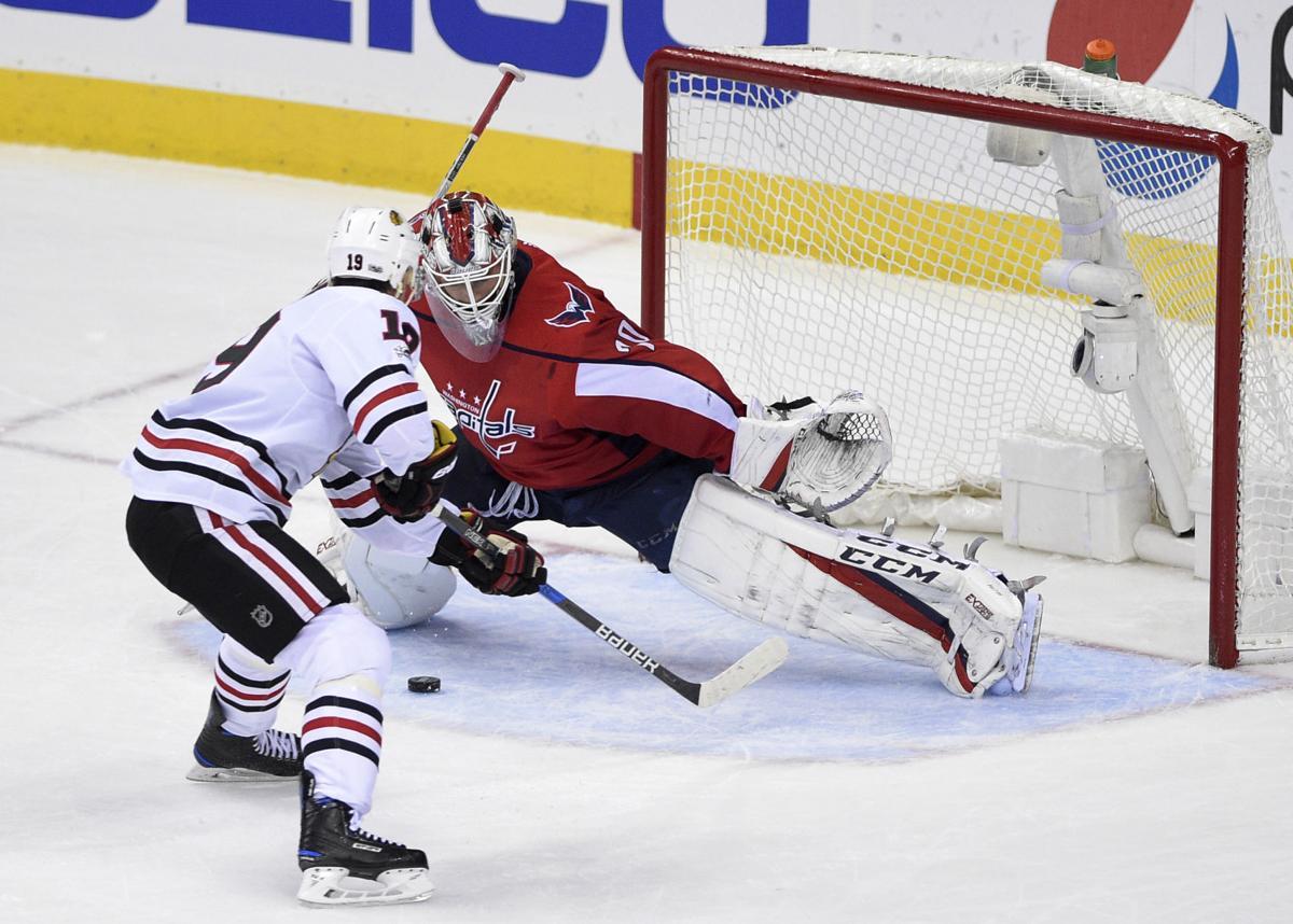 Blackhawks Capitals Hockey