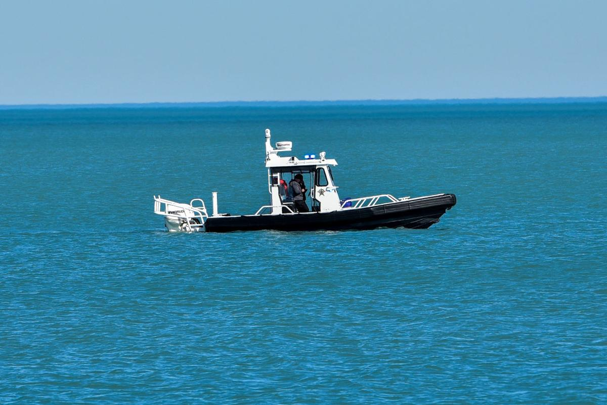 Searching Lake Michigan for Missing Person