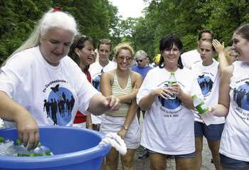 Family, friends of Jacob Hamm 'Walk to Remember'