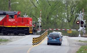 Quiet zones at Schererville railroad crossings
