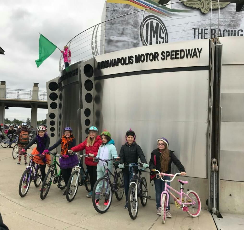 Valpo Girl Scouts slumber at Indianapolis Speedway