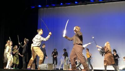 'The Lion, The Witch & The Wardrobe' on stage at Griffith High School