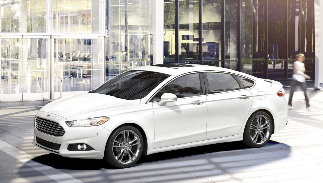 2016 Ford Fusion Design Leader In Midsize Sedan