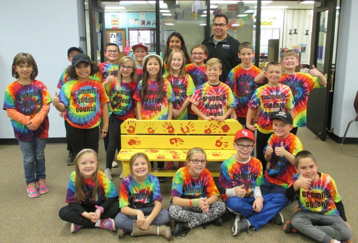 Buddy Bench donated to Brummitt