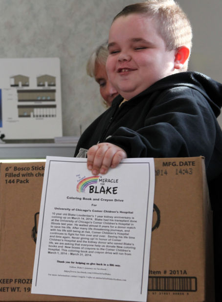 Young kidney transplant recipient pays it forward