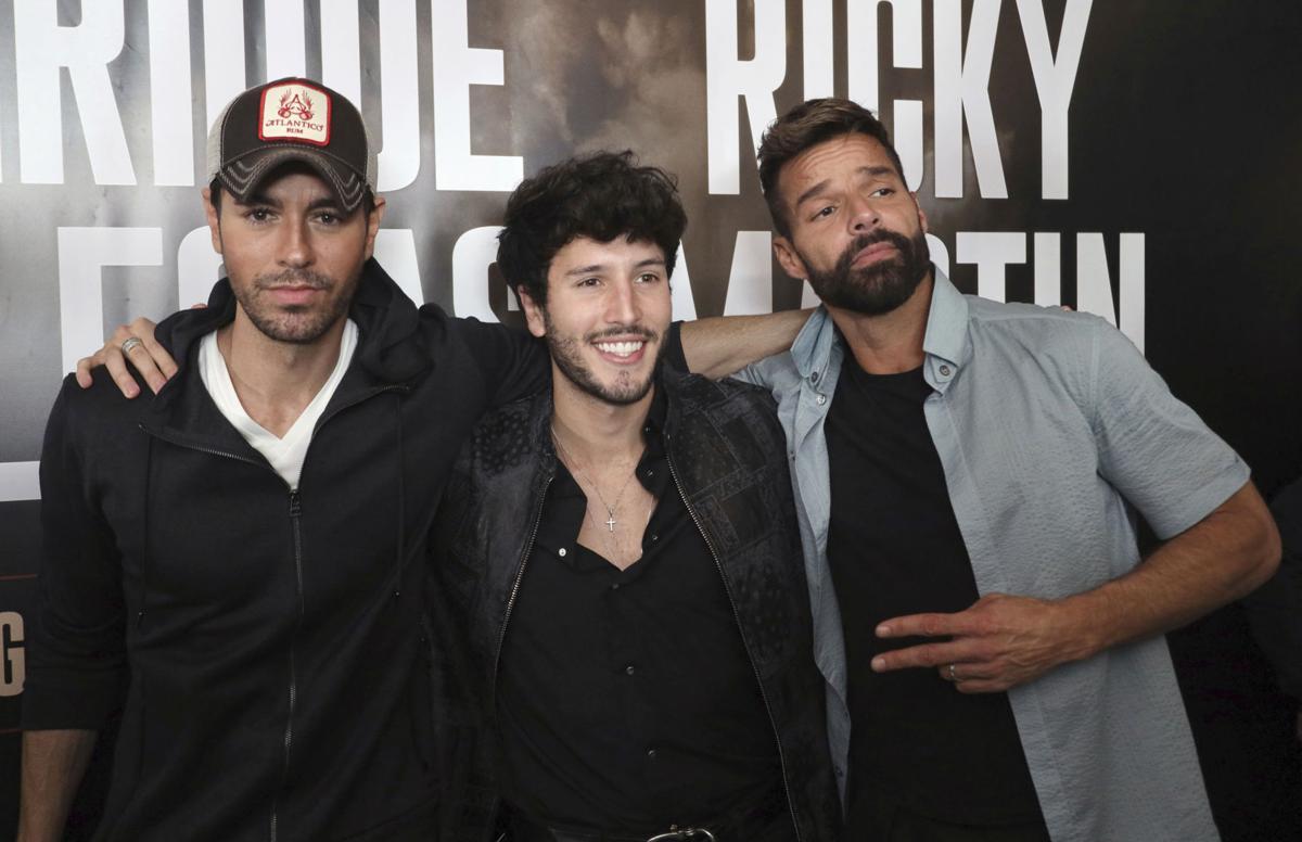 Enrique Iglesias and Ricky Martin