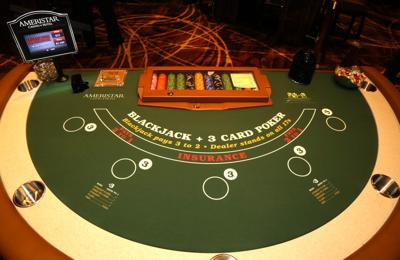 Ameristar Casino opened its high limit slots and table games room