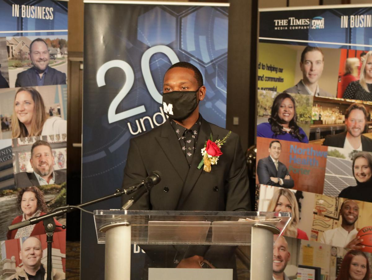 Times IN Business 20 Under 40 Award event for 2020