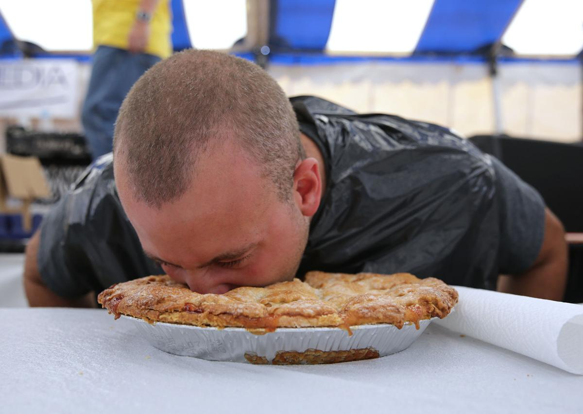 Lake County Fair pie eating contest