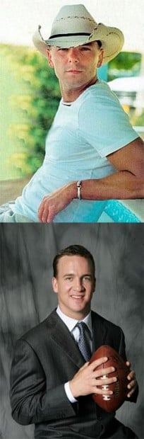 Kenny chesney rumors peyton manning Luke Combs,