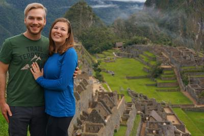 South America trip ends with a marriage proposal!