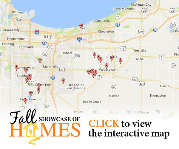 Fall Showcase of Homes - Interactive Map