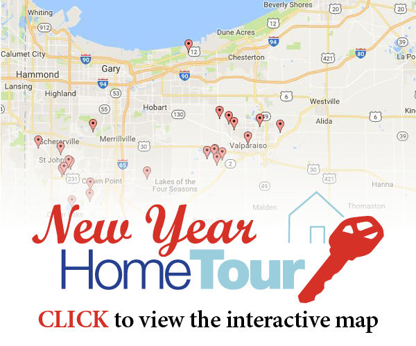 New Year Home Tour - Interactive Map