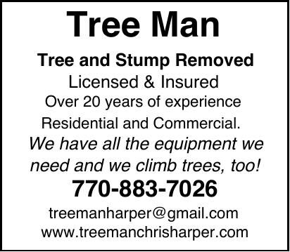 Tree Man tree and stump removal