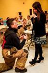 Fireman proposes to Prince Avenue teacher