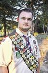 Boy Scout cleans cemetery for his Eagle