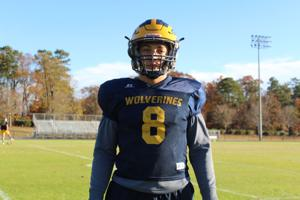 AOTW: Parrish has big performance in final home game