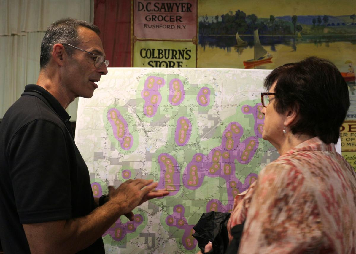 Invenergy holds open Centerville house on proposed Alle-Catt Wind Farm