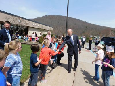 Gov. Wolf makes surprise visit to Bradford elementary school
