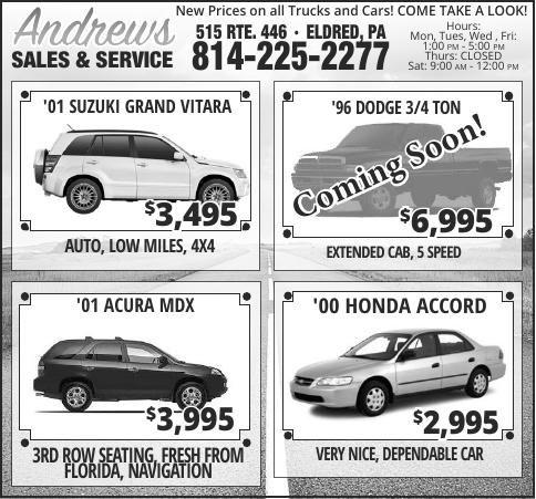 Andrews Sales & Service