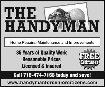 The Handyman | Ads To Go | oleantimesherald com